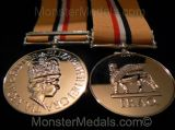FULL SIZE IRAQ WAR MEDAL WITH CLASP 19 MAR 28 APR 2003 REPLACEMENT COPY